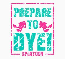 Prepare to Dye! Splatoon Series (Pink & Teal) Unisex T-Shirt
