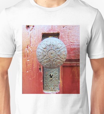 Old Door Knob Unisex T-Shirt
