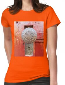 Old Door Knob Womens Fitted T-Shirt