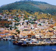 Hydra Island, Greece by MaluC