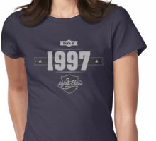 Born in 1997 (Light&Darkgrey) Womens Fitted T-Shirt