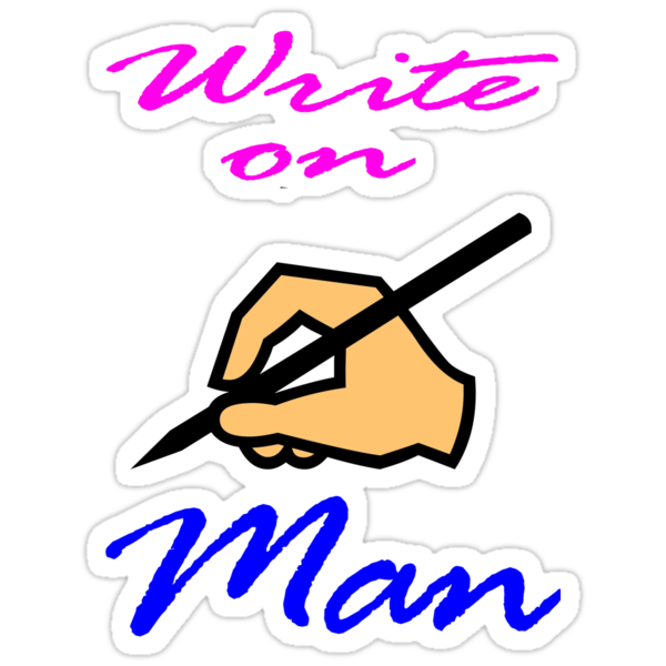 Write On Man by muz2142