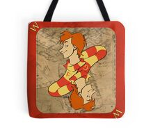 Fred and George Playing Card Tote Bag