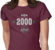 Born in 2000 (Light&Darkgrey) Womens Fitted T-Shirt