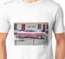 Vintage Pink Car Unisex T-Shirt