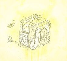 Boxed Mime (Yellow) by tomhanch
