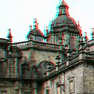 [3D] Santiago de Compostela Cathedral by George Parapadakis (monocotylidono)