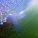 Crystal Clear Green Barrel by Vince Gaeta