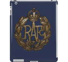 RAF Cap Badge iPad Case/Skin