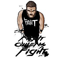 Fight Owens Fight fanart Photographic Print
