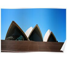 Sydney's Iconic Opera House Poster