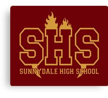 Sunnydale Highschool Canvas Print
