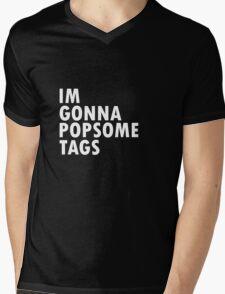 Thrift Shop Macklemore Tags Tee Mens V-Neck T-Shirt