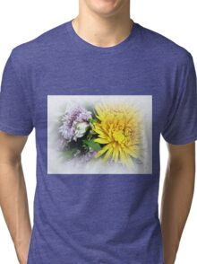Floral Refreshment Tri-blend T-Shirt