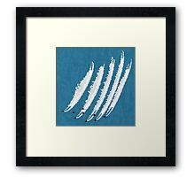 Jet fuel Framed Print