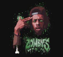 Meechy Darko Flatbush Zombies by tompupavac