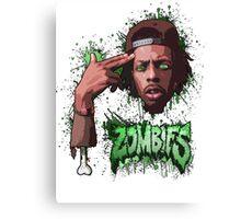 Meechy Darko Flatbush Zombies Canvas Print