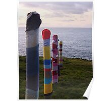 Drying Posts Poster
