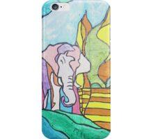 Pink Elephant iPhone Case/Skin
