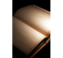 book ... just an empty book Photographic Print