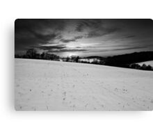 Winter's Spirit BW Canvas Print