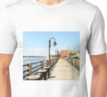 Riverfront In Wilmington Unisex T-Shirt