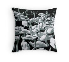 Swans! Throw Pillow