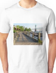 Waterfront In Wilmington, NC Unisex T-Shirt
