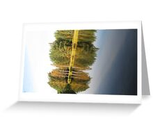 Autumnal Mirror Image Greeting Card