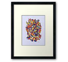 - dreamed architecture - Framed Print