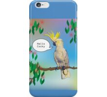 Hello Cocky iPhone Case/Skin