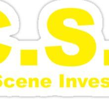 Geocaching - Cache Scene Investigation Sticker