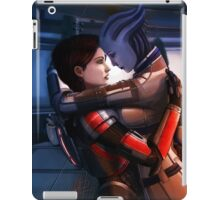 Safe in your arms. iPad Case/Skin