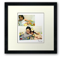water babies Framed Print