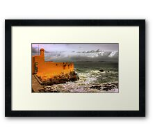 wish you were here... Framed Print