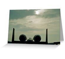 Thunderbolt Sunrise Greeting Card