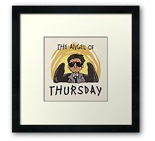 Angel of Thursday Framed Print
