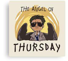 Angel of Thursday Canvas Print