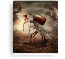 Old mosquito Canvas Print
