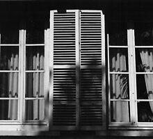 Ile St. Louis Windows by Susan Chandler