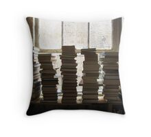 berkelouw books dark Throw Pillow