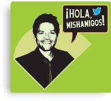 Hola, Mishamigos! Canvas Print