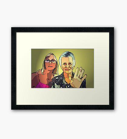 Mum n I Framed Print