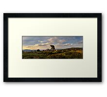 Craig's Hut Framed Print