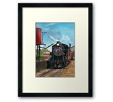 Train - Strasburg Number 9 Framed Print