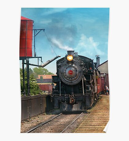 Train - Strasburg Number 9 Poster