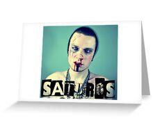 ST. JIMMY SATUROS SELF-PORTRAIT Greeting Card