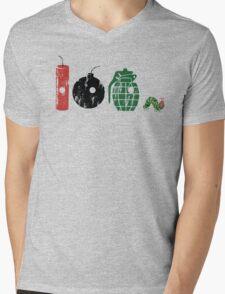 Very Hungry Mens V-Neck T-Shirt
