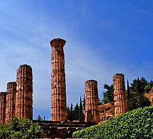 Temple of Apollo, Delphi, Greece by MaluC