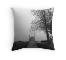 The Plank Throw Pillow
